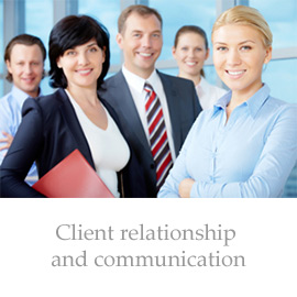 Client relationship and communication