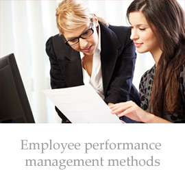 Employee performance management methods