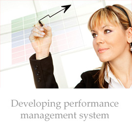 Developing performance management system