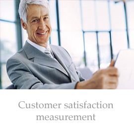 Consumer satisfaction measurement