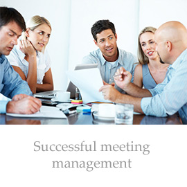 Successful meeting management